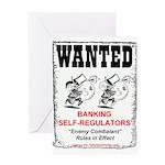 Wanted: Regulators Greeting Card