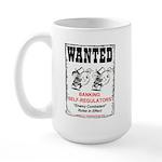 Wanted: Regulators Large Mug