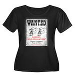 Wanted: Regulators Women's Plus Size Scoop Neck Da