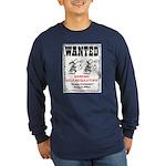 Wanted: Regulators Long Sleeve Dark T-Shirt