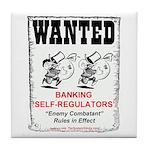Wanted: Regulators Tile Coaster
