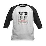 Wanted: Regulators Kids Baseball Jersey