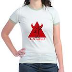 AO hell Jr. Ringer T-Shirt