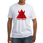 AO hell Fitted T-Shirt