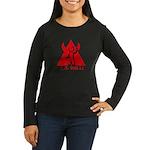 AO hell Women's Long Sleeve Dark T-Shirt