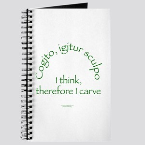 I Think, Therefore I Carve Journal