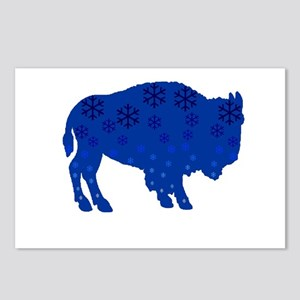 Buffalo Snow Postcards (Package of 8)