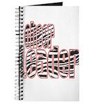 Zebra Cheerleader Journal