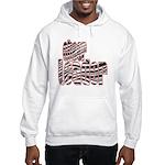 Zebra Cheerleader Hooded Sweatshirt