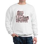 Zebra Cheerleader Sweatshirt