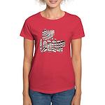 Zebra Cheerleader Women's Dark T-Shirt