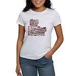 Zebra Cheerleader Women's T-Shirt