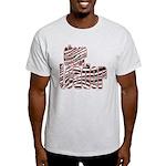 Zebra Cheerleader Light T-Shirt