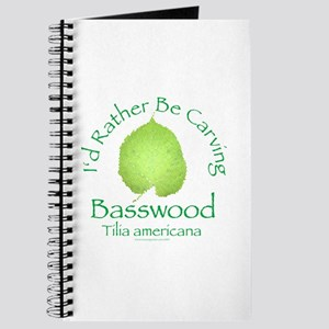 Rather Be Carving Basswood 2 Journal