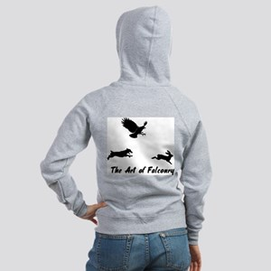 JRT and Falconry Back Women's Zip Hoodie