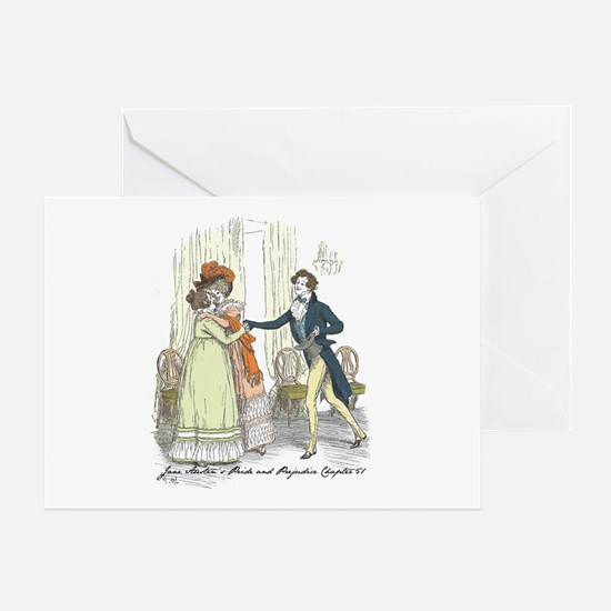 Pride and Prejudice Chapter 5 Greeting Card