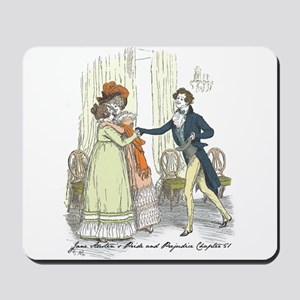 Pride and Prejudice Chapter 5 Mousepad