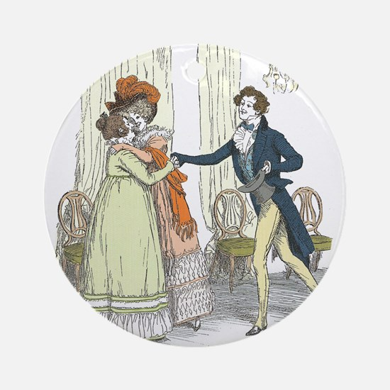 Pride and Prejudice Chapter 5 Ornament (Round)