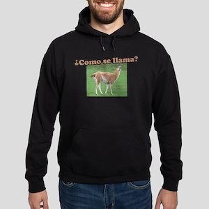 Como Se Llama? Hoodie (dark)