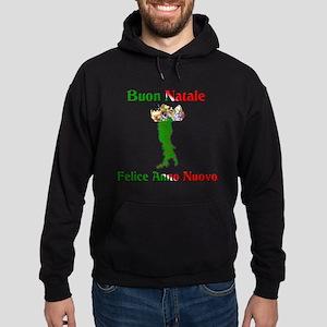 Buon Natale Felice Anno Nuovo Hoodie (dark)