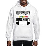 Bodybuilding Intensity Builds Im Hooded Sweatshirt