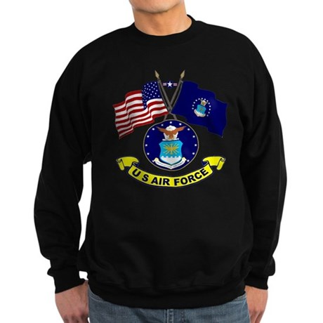 USAF Flag Sweatshirt (dark)