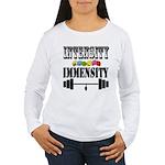 Bodybuilding Intensity Women's Long Sleeve T-Shirt