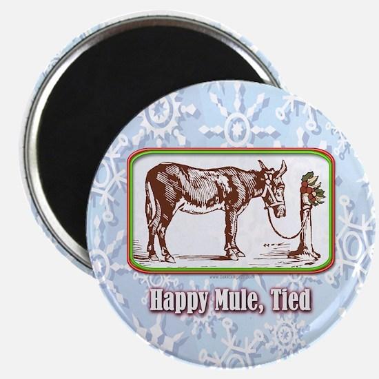 Happy Mule, Tied... Magnet