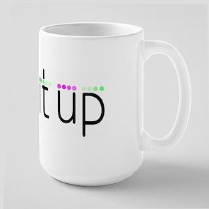 Kick It Up Large Mug