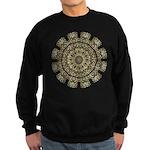 Treble Alto Clef Mandala Sweatshirt (dark)