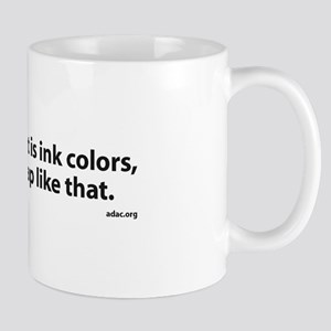 What's Important to Graphic Artists Mug