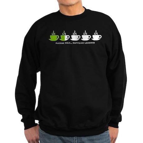Please Wait Caffeine Loading Sweatshirt (dark)