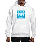 I only fuck girls who Hooded Sweatshirt