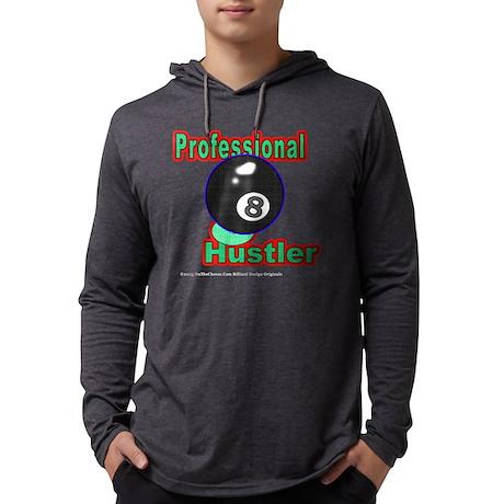 8 Ball Hustler Men's Long Sleeve Hooded Shirts