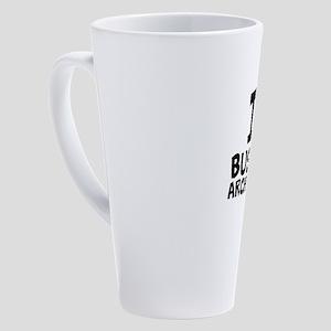 I Love Business Architecture 17 oz Latte Mug