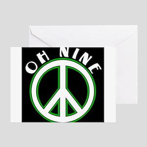 Peace 2009 Greeting Card
