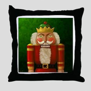 Christmas Nutracker Throw Pillow