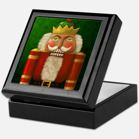 Christmas Nutracker Keepsake Box
