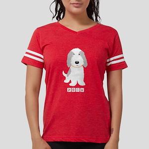 Grey & White PBGV Women's Dark T-Shirt