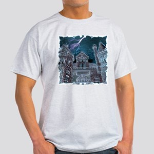 Surreal Haunted House #4 Ash Grey T-Shirt