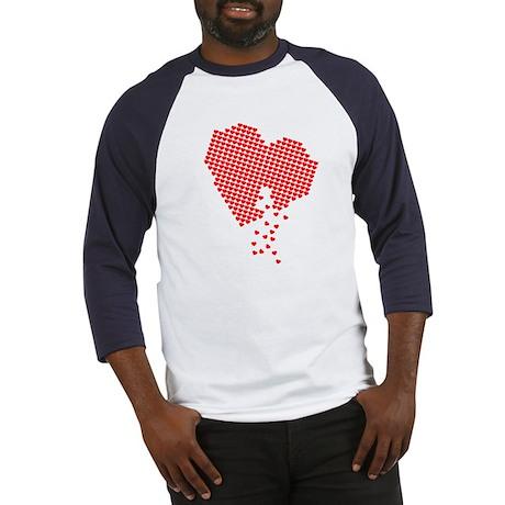 Digital Hearts Baseball Jersey