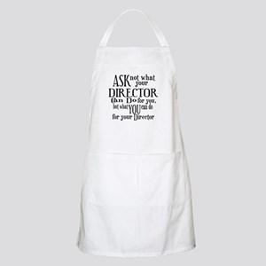 Ask Not Director BBQ Apron