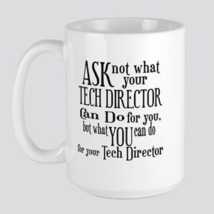 Ask Not Tech Director Large Mug