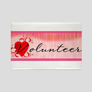 Volunteer Rectangle Magnet