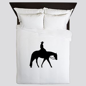 Quarter Horse Western Pleasure Queen Duvet