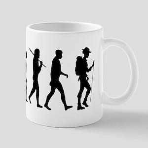 Hiking Evolution 11 oz Ceramic Mug