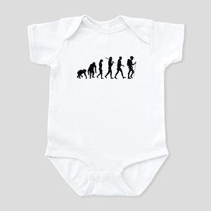 Hiking Backpacking Walking Infant Bodysuit