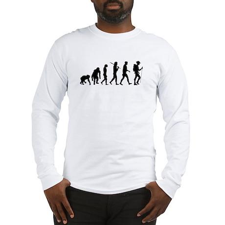 Hiking Backpacking Walking Long Sleeve T-Shirt