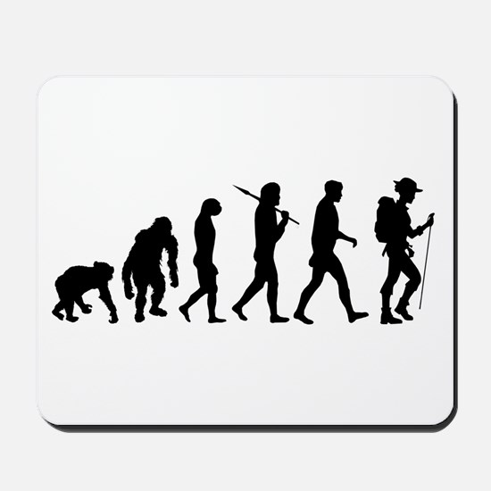 Hiking Backpacking Walking Mousepad