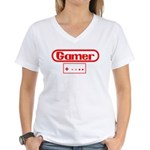 Gamer 3 Women's V-Neck T-Shirt
